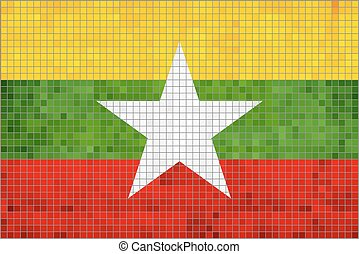 Flag of Myanmar.eps