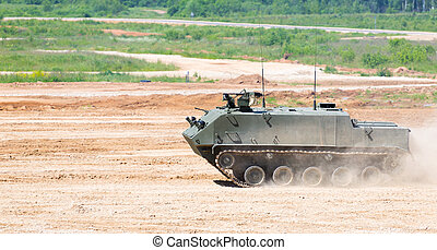 Airborne forces vehicle The modern military equipment...