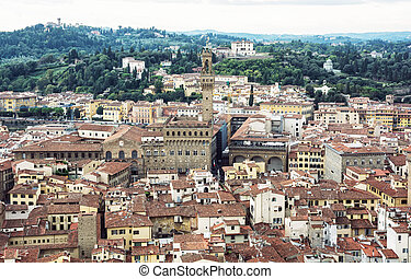 Palazzo Vecchio (Old Palace), Florence, Italy, cultural...