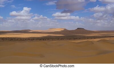 Tunisia Typical landscape - Typical landscape of the Sahara...