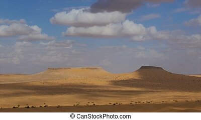 Tunisia. Typical landscape. - Typical landscape of the...