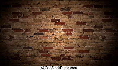 brick wall - Loop scrolling brick wall