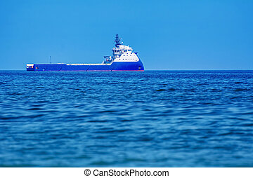 Offshore Supply Ship in the Black Sea