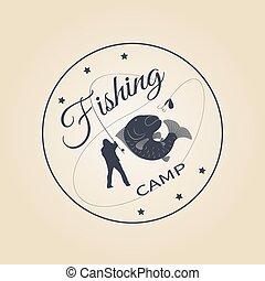 logo fishing camp