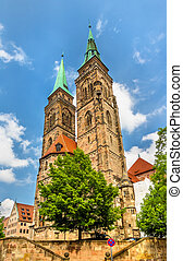 St Sebaldus Church in Nuremberg - Germany, Bavaria
