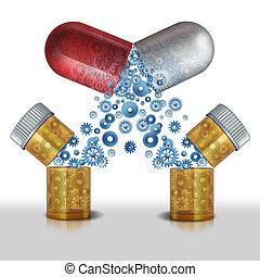 medicina, interazione