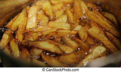 Cooking French Fries
