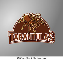Tarantula Illustration Design symbol