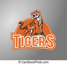 Tigers illustration design