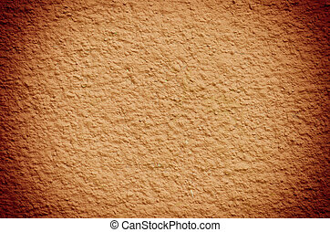 cement wall background - orange cement wall background in...