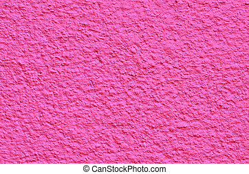 cement wall background - Pink cement wall background