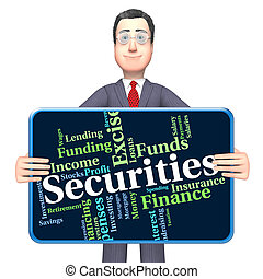 Securities Word Indicates Financial Obligation And Bond -...