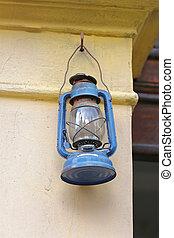 Kerosene Lamp - Cold Blast Kerosene Oil Lamp at Wall