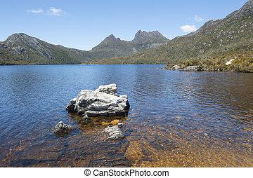 Dove Lake Cradle Mountain National Park  Tasmania
