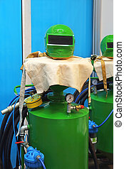Sandblasting Equipment - Tools and Protection Equipment for...