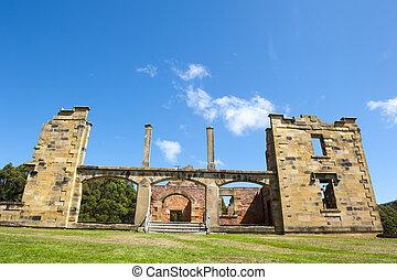 Port Arthur Convict Hospital Museum Tasmania - World...