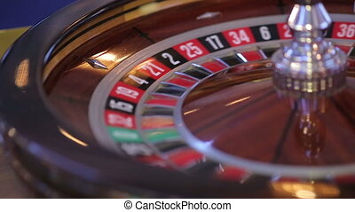 Casino Roulette Wheel - image with a casino roulette wheel...