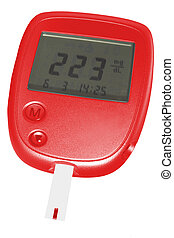 blood check- glucometer