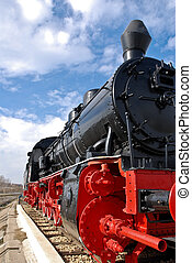 Steam Locomotive - train