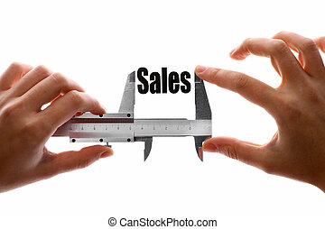 How big are our sales