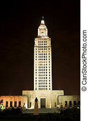 Louisiana State Capitol - State Capitol in Baton Rouge,...