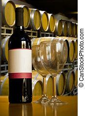 Établissement vinicole, vin, dégustation