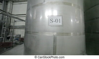Tank equipment. chemical industry