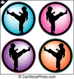 marial arts set karate mma power - taekwondo karate mma...