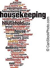 Housekeeping-vertical Convertedeps - Housekeeping word cloud...