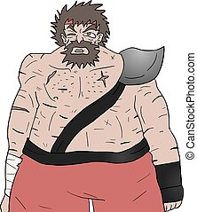 Barbarian illustration - Creative design of Barbarian...