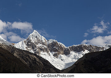 Mount Artesonraju in Peru also known as Paramount Pictures...