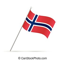 Norway Flag Illustration - Illustration of a flag from...