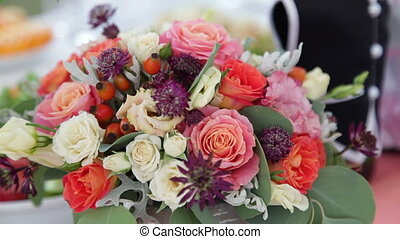 Beautiful Wedding Bouquet - Beautiful Bouquet of Roses and...
