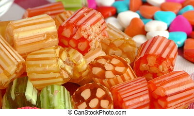 Candy Sweet Jelly Lolly Sugar - Candy Sweet Jelly Lolly and...