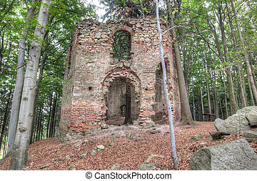 Ruins of the Baroque chapel of Saint Mary Magdalene - Ruins...