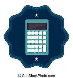 Calculator icon design, vector illustration graphic eps10