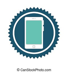 Technology electronic device icon graphic design, vector...