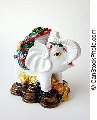 Feng Shui Elephant for good fortune and success.