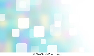 squares on blurred background abstract loopable animation -...