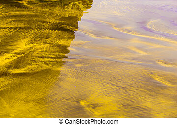 Sand Nature Abstract Background - Yellow Sand Natural...