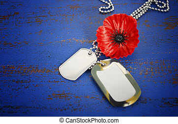 USA Memorial Day concept. - USA Memorial Day concept of red...