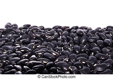 black Eyed Peas on isolated white background