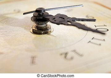 conceptof, tiempo,