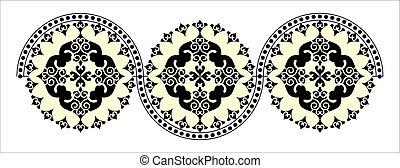 decorative round pattern.eps