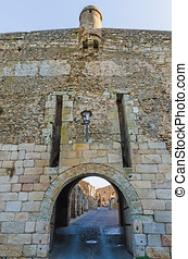 Gate of Ciudad Rodrigo - One of the gates in the wall of...