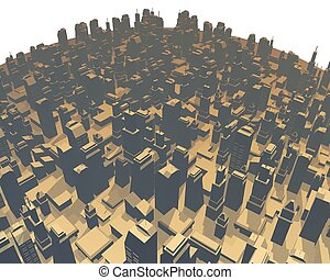 imaginative render city - Creative design of imaginative...