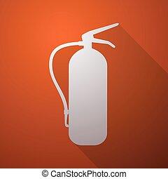 extinguisher symbol - Creative design of extinguisher symbol