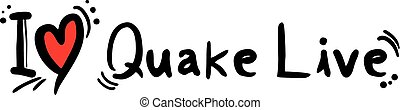 Quake Live love - Creative design of Quake Live love