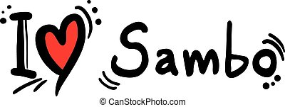 Sambo love - Creative design of Sambo love