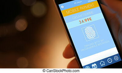 Mobile Payment with Smart Phone - Mobile Payment, smart pay...